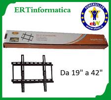 SUPPORTO STAFFA TV LCD BRACKET 19 - 22 - 24 - 26 - 32 - 40 - 42 POLLICI