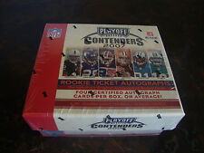 2007 Playoff Contenders Football Box---Hobby---Factory Sealed--24 Packs--4 Autos
