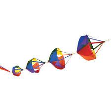 "Spinnies Windsock 11"" Delux Rainbow ..12...PR 22621"
