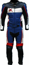 Blue Motorcycle Riding Suits