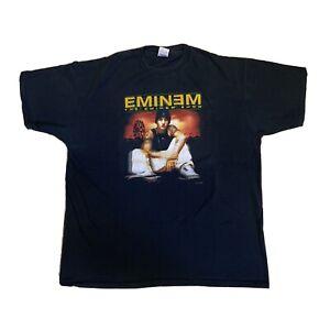 Vintage EMINEM Anger Management TOUR 2002 T Shirt show Anvil XL rap Hip hop OG