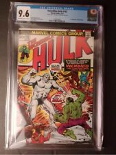 The Incredible Hulk 162. Double Cover. CGC 9.6. Off-white to White Pages.