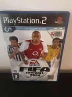 FIFA Football 2004 (PS2) Playstation 2 Game + Instructions EA Sports - Free Post