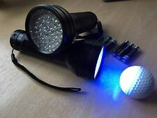 Golf Balls - With The  50 Led Low Frequency Torch X2  FREE BATTERIES