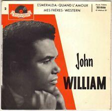 """JOHN WILLIAM """"ESMERALDA"""" 60'S EP POLYDOR 20886"""
