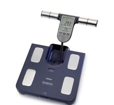 Omron BF511 Family Body Composition Monitor Fat Weight Bathroom Scales Dark Blue