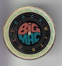 RARE PINS PIN'S .. MC DONALD'S RESTAURANT USA RECETTE BURGER BACK OF BIG MAC ~17