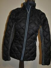 Lululemon Run Turn Around Reversible Jacket Weightless Black Silver Size 6 USED