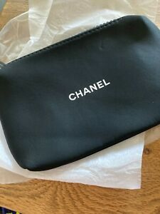 Chanel black make-up bag new with card sleeve