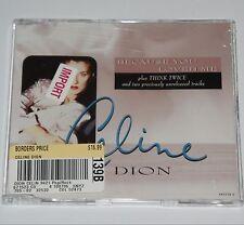 CELINE DION SEALED Because You Loved Me IMPORT CD UK Sony Epic Singer Pop Europe