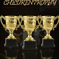 8pcs Award Trophy Cup Design Statues for Celebrations Parties Sports Competition