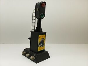MARX AUTOMATIC SIGNAL VERY GOOD CONDITION VINTAGE MODEL TRAIN ACCESSORY
