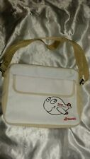 SWISS AIRLINES TRAVEL BAG SHOULDER BAG PURSE SMALL FITS IN OVERHEAD BIN