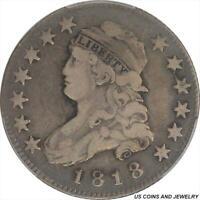1818 Capped Bust Quarter PCGS VF20 Nice Original Patina