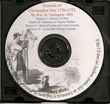 Christopher Gist's Journals 1750-1753 -  VA, KY & OHIO