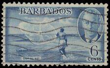 """BARBADOS 220 (SG275) - King George VI """"Net Fisherman"""" (pf46265)"""