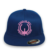 THIS IS MY PEACE SIGN AR15 GUN 2nd Amendment Flex Fit HAT *FREE SHIPPING in BOX*