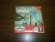 CANADA LAND OF CONTRASTS (A090) FACTORY SEALED Viewmaster PACKET SET 3 reels GAF