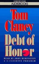 Jack Ryan: Debt of Honor Set by Tom Clancy (1994, Audio, Other, Abridged, Unabr…