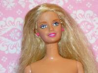 Mattel Barbie Doll Vintage LONG BLONDE HAIR TNT Nude Naked for OOAK or Custom
