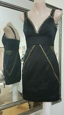 Ladakh little black cocktail dress.Sz8.Sm fit.6-8.Has stretch.Lined.VGC