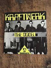 "KRAFTWERK - THE MODEL/COMPUTER LOVE - CULT ELECTRO POP,SYNTH POP,RARE 7""!"