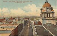 Fort Wayne, INDIANA - Birdseye from Shoff Building - 1914