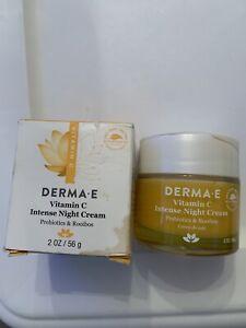 Vitamin C Intense Night Cream, Probiotics & Rooibos, 2 oz (56 g) Cracked Lid