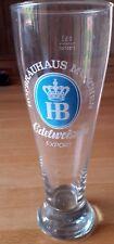 Weizenglas Weißbierglas Hofbräuhaus München Edelweizen Weizen-Bier-Glas