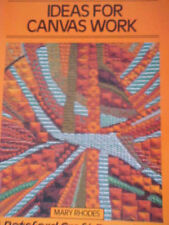Ideas for Canvas Work Mary Rhodes Paperback 1984 Former Library Book
