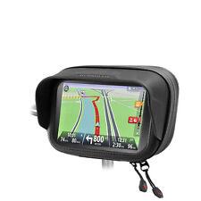 "Motorcycle Bike Mount & Weatherproof Bag Blend Protection GPS TOMTOM 3.5"" & 4.3"""