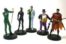 Batman DC Comics Collecters Figures *5 ,catwoman , riddler,penguin,robin,two fac