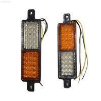 A80E 1Pair LED Front Indicator Park Bull Bar Light Lamp For Car Truck Auto Vehic