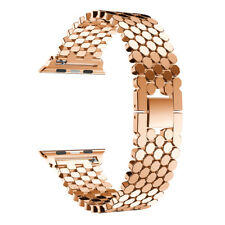 For Apple Watch 1 2 3 38/42mm!Fashion Stainless Steel Bracelet Wrist Band+Clasp