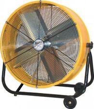 24 Inch Floor Fan Tilting 2 Speed Drum Portable Shop Home Garage Patio Basement