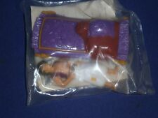 Vintage Disney Aladdin &His Carpet Kids Club Toy by Burger King 1992 Mint Sealed