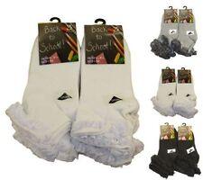 Chaussettes et collants socquettes coton mélangé pour fille de 2 à 16 ans