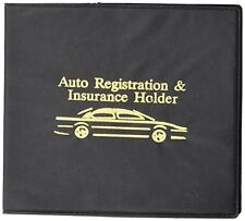 Vehicle Auto Car Truck Insurance Registration ID Card Documents Holder Case