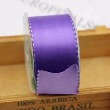 2x3.6M Of 38mm Double Faced Purple Satin Ribbon With Stitches - The New Pink😉🥰