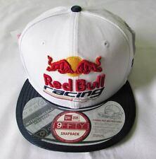 NEW ERA CAP HAT 9FIFTY SNAPBACK RED BULL BRAZIL RACING WHITE INTERCHANGEABLE