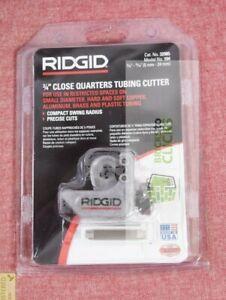 RIDGID- 3/16 in. to 15/16 in. Model 104 Close Quarters Tubing Cutter