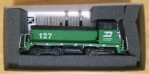 Athearn SW-7 Cow  Burlington Northern Powered Locomotive Item #  4002
