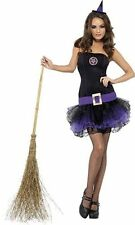 Smiffys Fever Tutu Witch Womens Costume Halloween Fancy Dress  SMALL  RRP £29.99