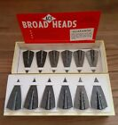 12 Ace Glue-on Broadheads - 5/16 x 130 Grains - New Old Stock in Box