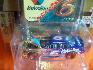 MARK MARTIN GOLD CHROME COMMEMORATIVE SERIES #6 1999 with MEDALLION 1 of 9999