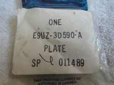 NOS 1989 - 1991 FORD ECONOLINE POWER STEERING PUMP FRONT PRESSURE PLATE ASSEMBLY