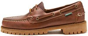 Sebago Ranger Waxy Boat Deck Leather Shoes in Brown 7001HU0 925