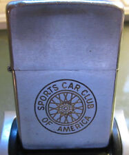 Vintage RARE 1959 SCCA Sports Car Club of America ZIPPO LIGHTER ADVERTISING Race