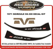 1971 SKIROULE SS-300 Reproduction Decal Kit   S-300  S-340