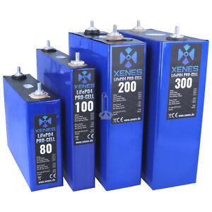XENES PRO-Cell 3.2V LiFePO4 100Ah 200Ah 300Ah Lithium-Eisenphosphat Speicher